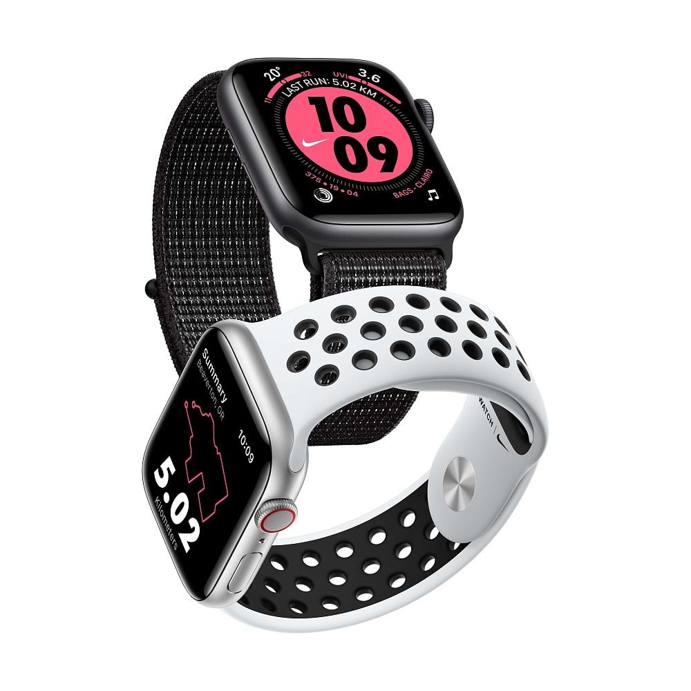 Apple - Apple Watch Series 5 Nike+