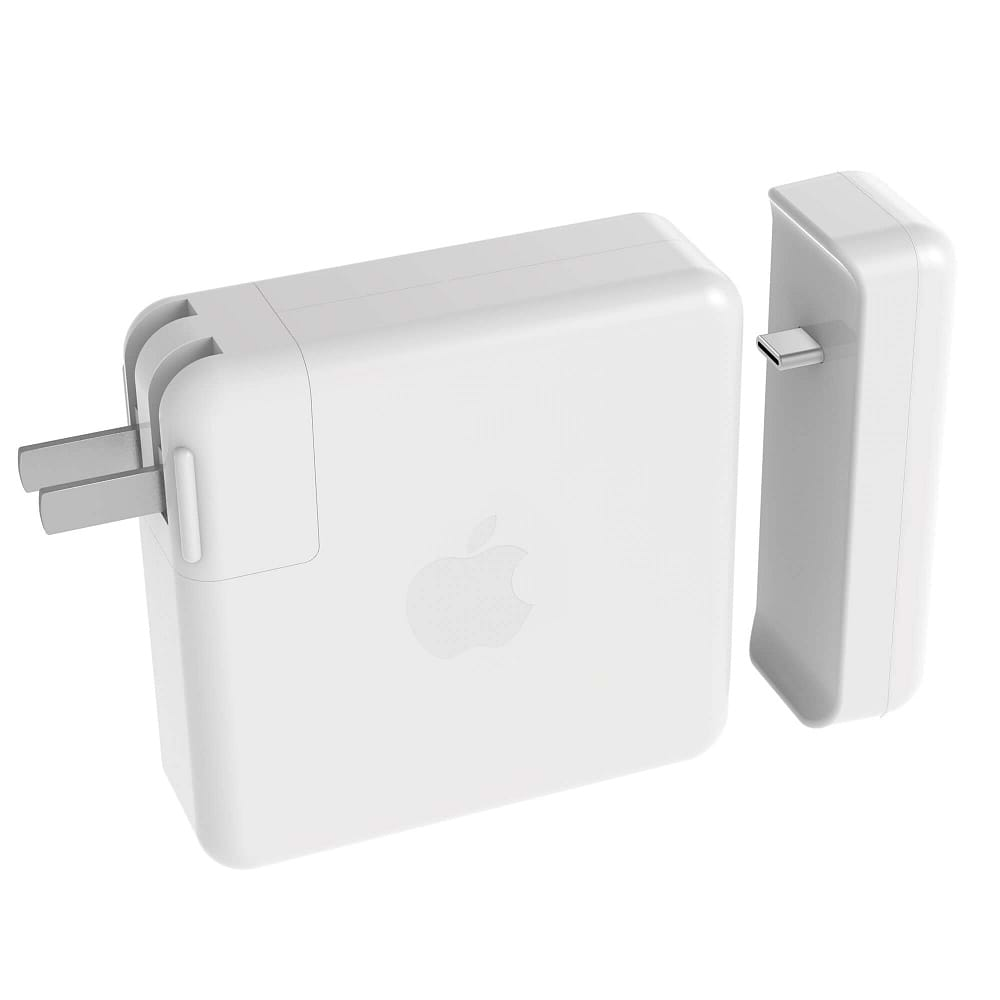 HyperDrive - USB-C  Hub for Apple 61W Power Adapter / White