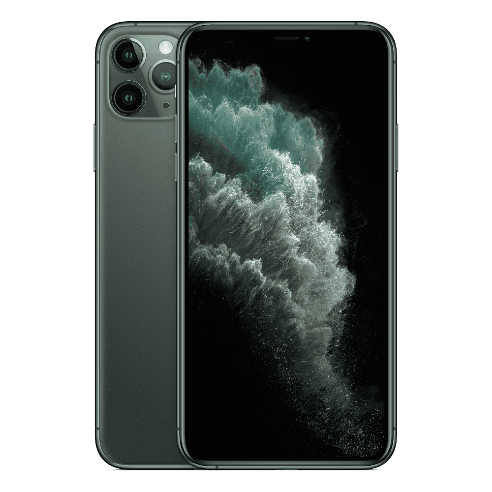 Apple - iPhone 11 Pro Max 64GB / Midnight Green *תצוגה*