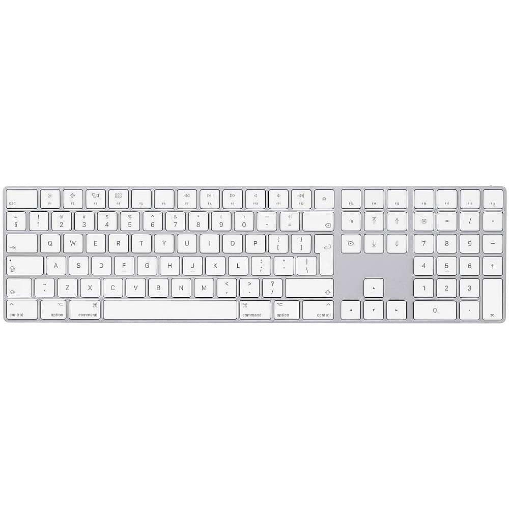 Magic Keyboard with Numeric Keypad (US) / Silver *תצוגה*