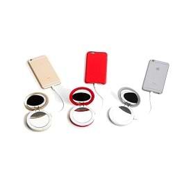 Pearl - 3000mAh Compact Mirror Battery Pack
