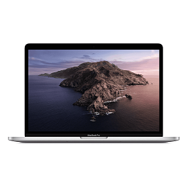 Apple MacBook Pro 13 (2020) w/TB/2.0GHz i5/32G Ram/512GB / Silver *תצוגה*