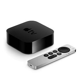 Apple - Apple TV 4K (2nd generation) / Black