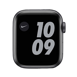 Apple Watch Nike Series 6 GPS + Cellular 40mm / Space Gray Aluminium Case with Anthracite/Black Nike Sport Band *תצוגה*