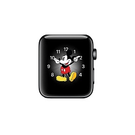 Apple Watch Series 2 38mm Space Black Stainless Steel Case with Space Black Sport Band *תצוגה*