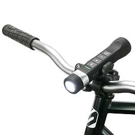 Scosche - Bike Flashlight Powerbank BT Speaker / Black