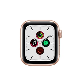 Apple Watch SE GPS 40mm / Gold Aluminium Case with Pink Sand Sport Band *תצוגה*
