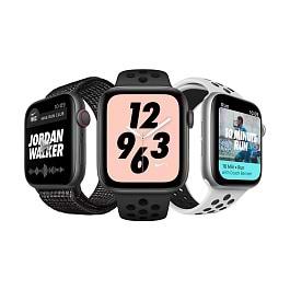 Apple - Apple Watch Series 4 Nike +