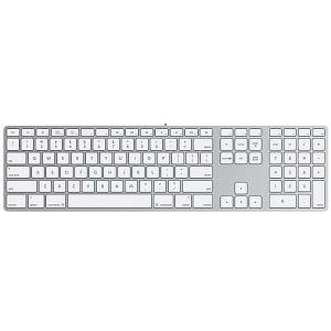 Keyboard with Numeric Keypad