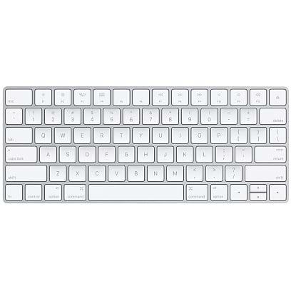 Magic Keyboard ללא צבע
