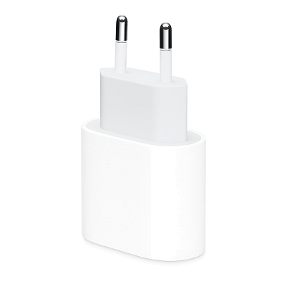 Apple - 20W USB-C Power Adapter / White White