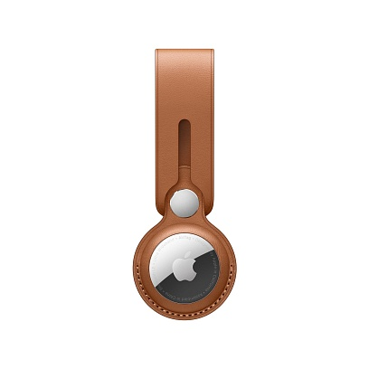 Apple - AirTag Leather Loop