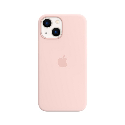 Apple - iPhone 13 mini Silicone Case with MagSafe