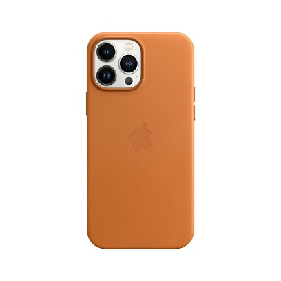 Apple - iPhone 13 Pro Max Leather Case with MagSafe
