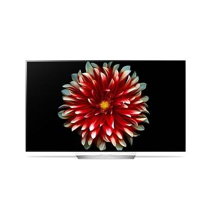 LG - 55 OLED 4K SmartTV / Black Black