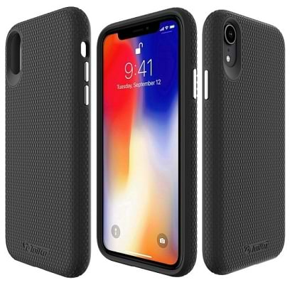 Toiko - X-Guard for iPhone Xr / Black Black