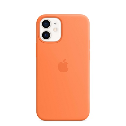 Apple - iPhone 12 mini Silicone Case with MagSafe