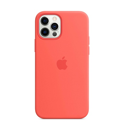 Apple - iPhone 12 | 12 Pro Silicone Case with MagSafe