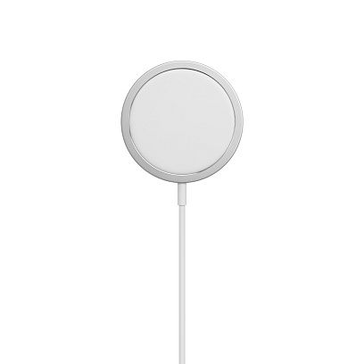 Apple - MagSafe Charger / White White
