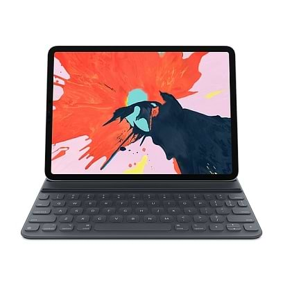 Apple - Smart Keyboard Folio for iPad Pro 11 (2018) Space Gray