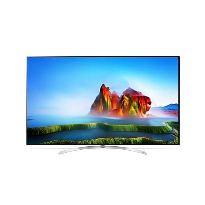 LG - 75 SuperUHD Smart TV / Black Black