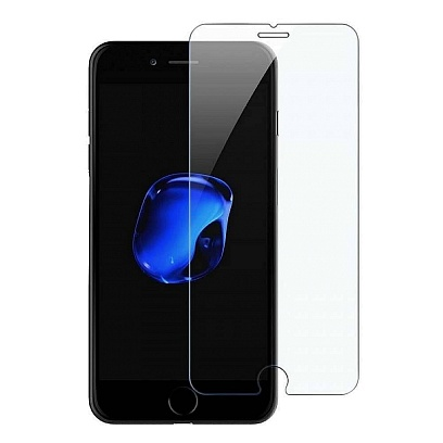 Spirit - Full Glass Protector for iPhone SE (2020) / Clear Clear