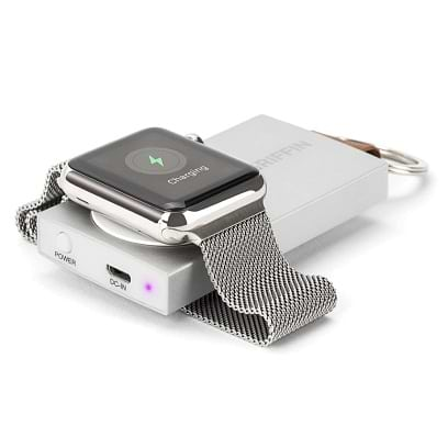 GRIFFIN - Travel PowerBank for Apple Watch ללא צבע