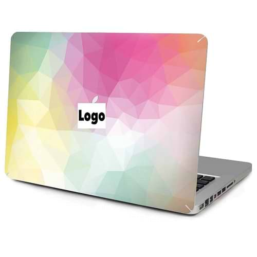 Top Vinyl Sticker for MacBook Pro Retina 15 / Rainbow