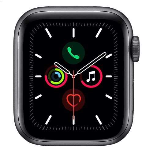 Apple - Apple Watch Series 4 GPS + Cellular 44mm / Space Grey Aluminium (Case Only) *תצוגה*