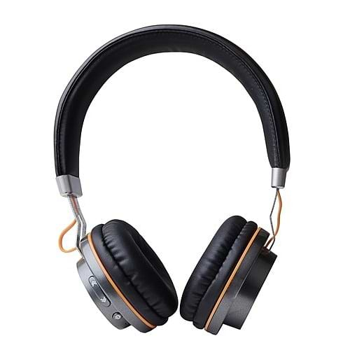 Miracase - MBTOE70 Bluetooth Stereo Headphones \ Black