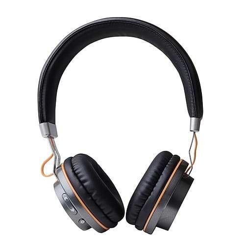 Miracase - MBTOE70 Bluetooth Stereo Headphones \ Black