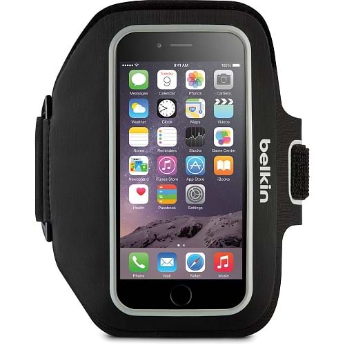 Belkin - Sport-Fit Plus Armband for iPhone 6/6s/7/8/X