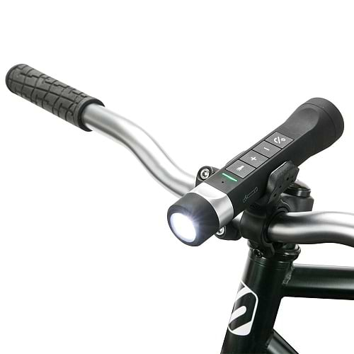 Scosche - Bike Flashlight Powerbank BT Speaker / Black
