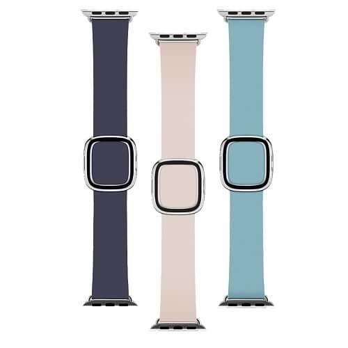 Apple Watch Band Leather Modern Buckle 38/40mm S/M