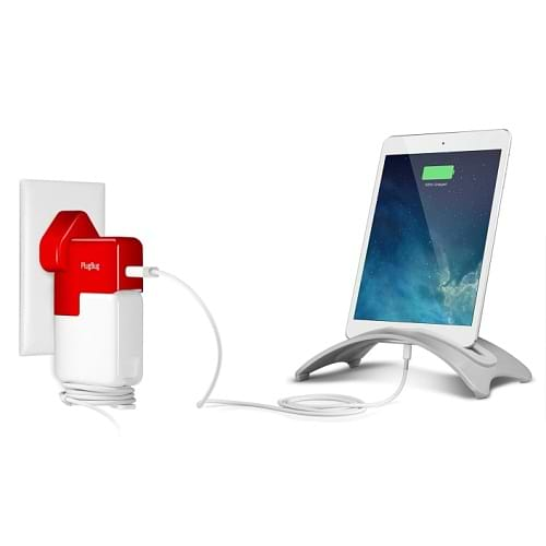 Twelve South - PlugBug World AC Adapter / Red White