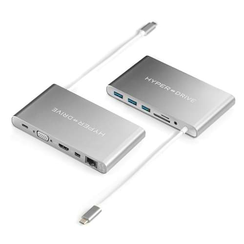 HyperDrive - USB-C Ulitmate HUB / Silver