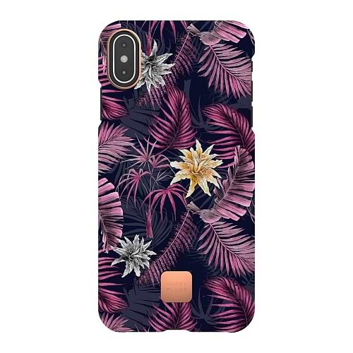 HappyPlugs - Case for iPhone XS / Hawaiian Nights