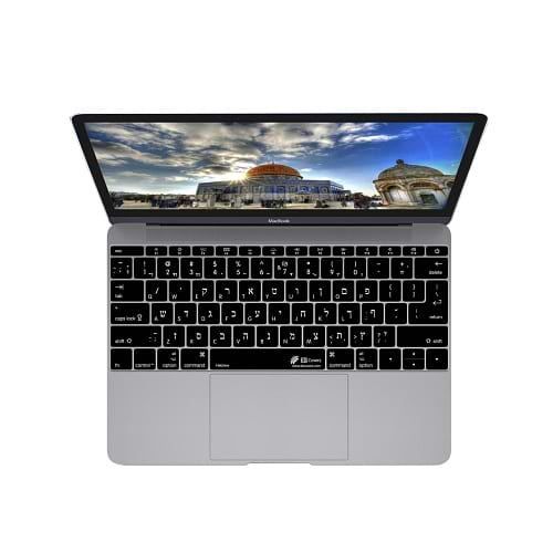 KB Cover - Hebrew MacBook 12 - ISO,US