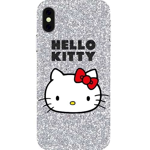Hello Kitty - Glitter Hello Kitty for iPhone X/XS