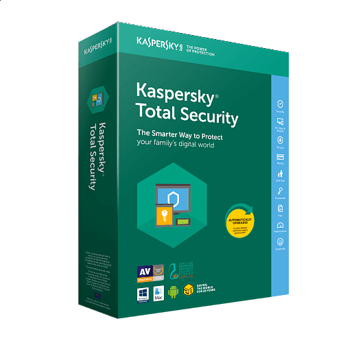 Kaspersky - Total Security 1 Year License / 5 Users