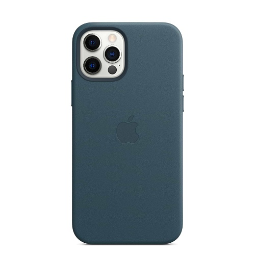 Apple - iPhone 12 | 12 Pro Leather Case with MagSafe
