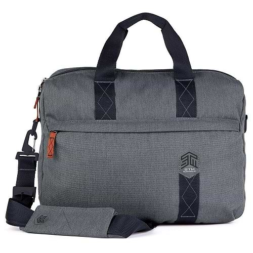 STM - RIDGE Messenger Bag MacBook Pro 15 / Tornado Grey