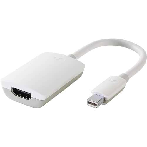 Mini DisplayPort to HDMI 4K adapter