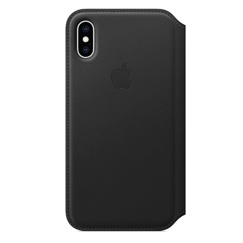 iPhone Xs Leather Folio Case