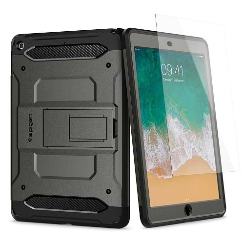 Spigen - Pro Guard for iPad 9.7 (2017-18) / Black