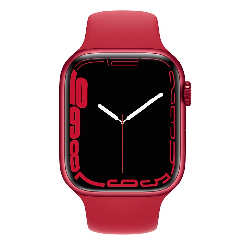 Apple - Apple Watch Series 7 GPS 45mm / PRODUCT(RED) Aluminium Case / PRODUCT(RED) Sport Band