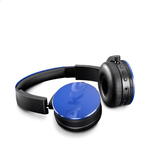 Y50BT On-Ear Bluetooth Headphones Blue