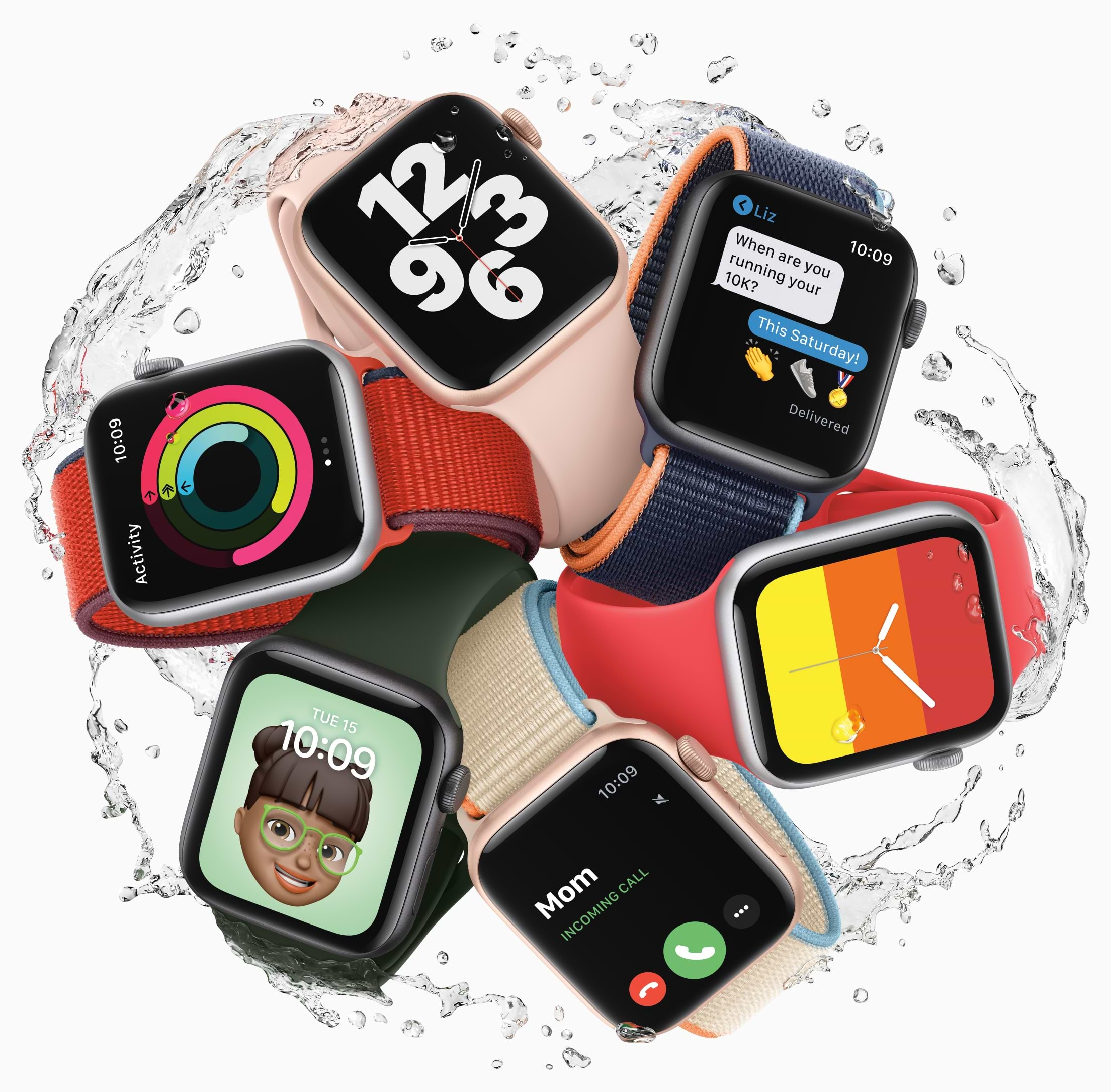 Apple Watch SE (Hero Image)